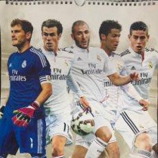 Coleccionismo deportivo: CALENDARIO REAL MADRID 2015 A3 ERIK EDITORES CAÑIZARES CRISTIANO RONALDO BALE BENZEMA LIGA LFP. Lote 260709470