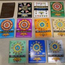 Coleccionismo deportivo: LOTE 11 ANUARIOS DINÁMICOS FÚTBOL DE 1970 A 1982. Lote 261254650