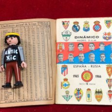 Collectionnisme sportif: CALENDARIO FUTBOL ,DINÁMICO - LIGA 1965-66 - PRIMERA DIVISION. Lote 262179615