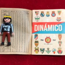 Coleccionismo deportivo: CALENDARIO FUTBOL ,DINÁMICO - LIGA 1966-67 - PRIMERA DIVISION. Lote 262180130