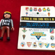 Coleccionismo deportivo: CALENDARIO FUTBOL ,DINÁMICO - LIGA 1972-73 - PRIMERA DIVISION. Lote 262192085