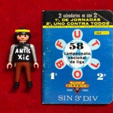 Coleccionismo deportivo: CALENDARIO FUTBOL ,DINÁMICO - LIGA 1988-89 - PRIMERA DIVISION. Lote 262212125