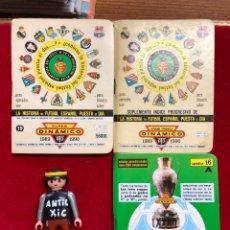 Coleccionismo deportivo: CALENDARIO FUTBOL ,DINÁMICO - LIGA 1989-90 - PRIMERA DIVISION + SUPLEMENTO + APRNDICE 16A. Lote 262212755