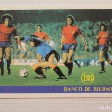 Coleccionismo deportivo: CALENDARIO BANCO DE BILBAO DE LOS PARTIDOS DEL MUNDIAL 1982. Lote 262229435