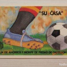 Coleccionismo deportivo: CALENDARIO CAJA DE AHORROS Y MONTE DE PIEDAD DE CASTELLÓN DE LOS PARTIDOS DEL MUNDIAL 1982. Lote 262229655