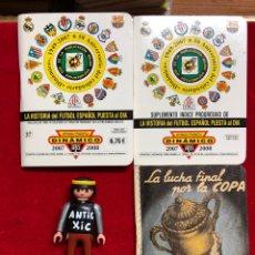 Coleccionismo deportivo: CALENDARIO HISTORIA FUTBOL ,DINÁMICO - LIGA 2007-2008 - PRIMERA DIVISION +LA LUCHA FINAL POR LA COPA. Lote 262230345