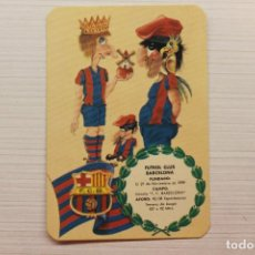 Coleccionismo deportivo: CALENDARIO FUTBOL CLUB BARCELONA 1978. Lote 262231080