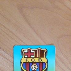 Coleccionismo deportivo: CALENDARIO BOLSILLO F. C. BARCELONA. AGROMÁLAGA LA CASA DEL GANADERO. MÁLAGA. 2001. Lote 262618530