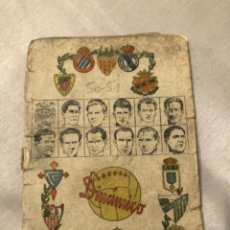 Coleccionismo deportivo: CALENDARIO DINÁMICO AÑO 50-51. ÚNICO!!!. Lote 264449984