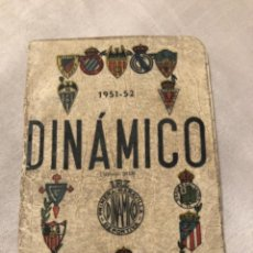 Coleccionismo deportivo: CALENDARIO DINÁMICO AÑO 51-52. ÚNICO!!!. Lote 264451339