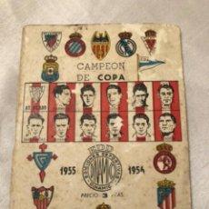 Coleccionismo deportivo: CALENDARIO DINÁMICO AÑO 55-56. OCASIÓN ÚNICA!!. Lote 264452279
