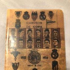 Coleccionismo deportivo: CALENDARIO DINÁMICO AÑO 55-56. OCASIÓN ÚNICA!!. Lote 264452359