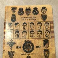 Coleccionismo deportivo: CALENDARIO DINÁMICO AÑO 56-57. OCASIÓN ÚNICA!!. Lote 264452974