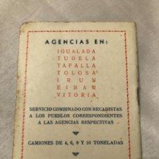Coleccionismo deportivo: CALENDARIO DINÁMICO AÑO 57-58. CURIOSO Y DIFÍCIL. OCASIÓN ÚNICA!!. Lote 264453259