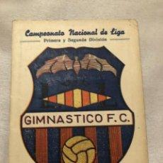 Coleccionismo deportivo: CALENDARIO DINÁMICO AÑO 60-61. CURIOSO Y DIFÍCIL. OCASIÓN ÚNICA!!. Lote 264454449