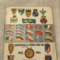 Coleccionismo deportivo: CALENDARIO DINÁMICO AÑO 63-64. OCASIÓN ÚNICA!!. Lote 264454934