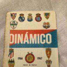 Coleccionismo deportivo: CALENDARIO DINÁMICO AÑO 66-67. OCASIÓN ÚNICA!!. Lote 264456009
