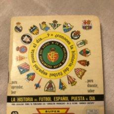 Coleccionismo deportivo: CALENDARIO DINÁMICO AÑO 89-90, HISTORIA DEL FÚTBOL ESPAÑOL PUESTA AL DIA. Lote 264725954