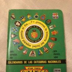 Coleccionismo deportivo: CALENDARIO DINÁMICO AÑO 92-93. Lote 264774269