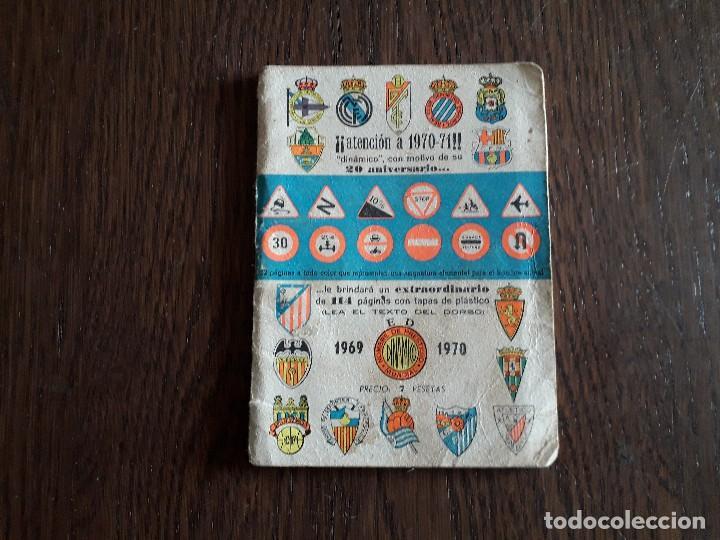 CALENDARIO DINÁMICO DE FUTBOL, TEMPORADA 1969-70 (Coleccionismo Deportivo - Documentos de Deportes - Calendarios)