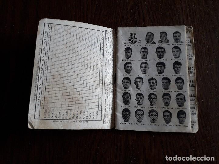 Coleccionismo deportivo: calendario dinámico de futbol, temporada 1969-70 - Foto 3 - 265335999