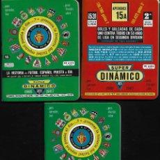 Coleccionismo deportivo: ANUARIO SUPER DINAMICO - 1986-1987 - HISTORIA DEL FUTBOL ESPAÑOL PUESTA AL DIA. Lote 268840134
