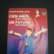 Coleccionismo deportivo: CALENDARIO DE BOLSILLO 2010 DEL LEVANTE U.D.. Lote 272956303