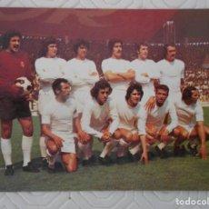 Coleccionismo deportivo: REAL MADRID C. F. CALENDARIO DE PARTIDOS PARA LA TEMPORADA 1975 - 76. SEGUNDA DIVISION.. Lote 274576893