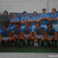 Collectionnisme sportif: REAL OVIEDO F. C. CALENDARIO DE PARTIDOS PARA LA TEMPORADA 1974 - 75. SEGUNDA DIVISION.. Lote 274577078