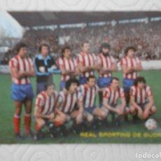Coleccionismo deportivo: REAL SPORTING DE GIJON. CALENDARIO DE BOLSILLO. AÑO 1980. PUBLICIDAD LA VERSAL, GIJON.. Lote 274577143