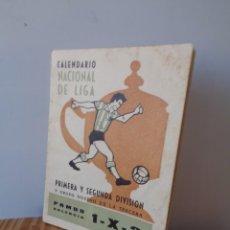 Coleccionismo deportivo: ¡¡ CALENDARIO NACIONAL DE LIGA: TEMPORADA - 1963 -64. !!. Lote 276257213