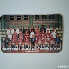 Coleccionismo deportivo: CALENDARIO 1997 MEDES SPORT FÚTBOL SALA. ZARAGOZA. Lote 278398923