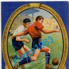 Coleccionismo deportivo: CALENDARIO LIGA 1948 1949,PUBLICIDAD VITHOL, IMPECABLE. Lote 284757188