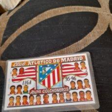 Coleccionismo deportivo: CALENDARIO PLASTIFICADO, ATLÉTICO DE MADRID. Lote 287109848