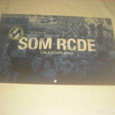 Coleccionismo deportivo: SOM RCDE , CALENDARI 2010 . PERICOS SOLIDARIS. RCD ESPANYOL.. Lote 287131248