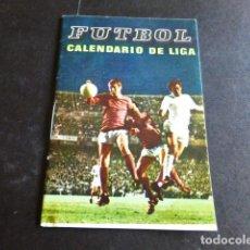 Coleccionismo deportivo: FUTBOL CALENDARIO DE LIGA 1976 1977. Lote 287639278