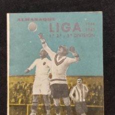 Coleccionismo deportivo: ALMANAQUE LIGA 1944 - 1945 1 ,2 Y 3 DIVISIÓN. Lote 293893453