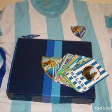 Coleccionismo deportivo: 26 CALENDARIOS DE BOLSILLO DEL MÁLAGA CLUB DE FÚTBOL 1988-2012. REGALO CAMISETA.. Lote 294095328