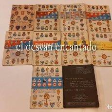 Coleccionismo deportivo: LOTE 10 CALENDARIOS FUTBOL DINÁMICO. 1962-1971. ESCRITOS CON LOS RESULTADOS. Lote 295795163