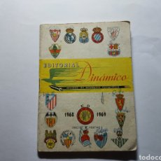 Coleccionismo deportivo: CALENDARIO DINAMICO 1968-1969. Lote 295861083