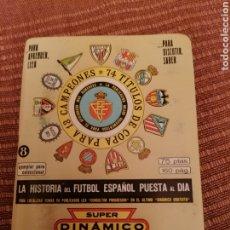 Coleccionismo deportivo: DINÁMICO 1978 1979. Lote 296003668
