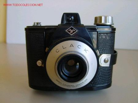 CAMARA ANTIGUA AGFA CLACK (Cámaras Fotográficas - Antiguas (hasta 1950))