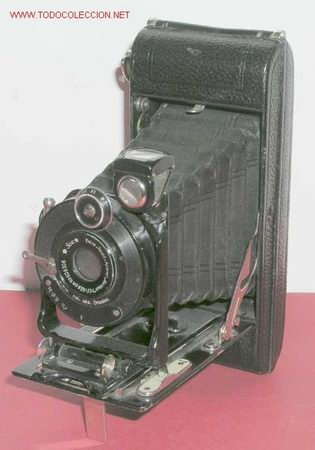 ICA ICARETTE DE FUELLE (Cámaras Fotográficas - Antiguas (hasta 1950))