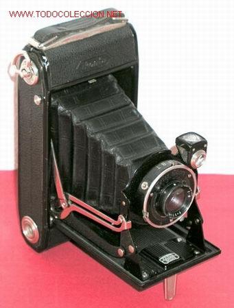 ZEISS IKON IKONTA 520/2 FUELLE (Cámaras Fotográficas - Antiguas (hasta 1950))