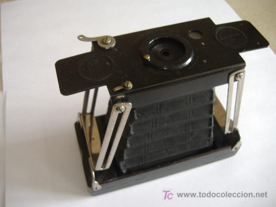 CAMARA DE FOTOS ANTIGUA INGLESA ENSIGNETTE Nº2 (Cámaras Fotográficas - Antiguas (hasta 1950))