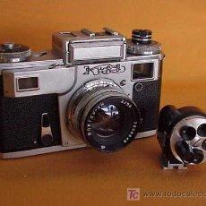 Cámara de fotos: KIEV TIPO CONTAX III.VISOR NO INCLUIDO EN LA SUBASTA. Lote 10093185