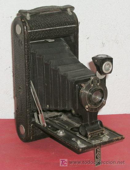 KODAK Nº 1 A AUTOGRAPHIC JUNIOR DE FUELLE (Cámaras Fotográficas - Antiguas (hasta 1950))