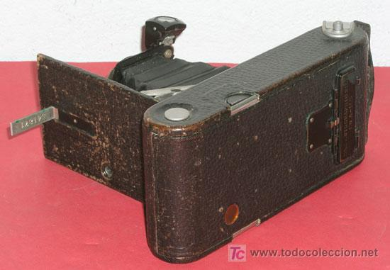 Cámara de fotos: KODAK Nº 1 A AUTOGRAPHIC JUNIOR DE FUELLE - Foto 4 - 16863117