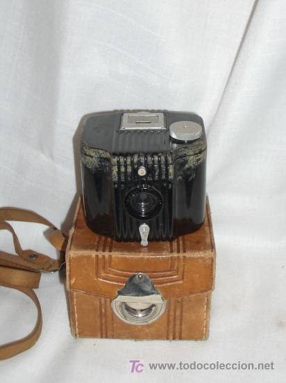 CAMARA BAQUELITA KODAK BABY BROWNIE AÑOS 30 (Cámaras Fotográficas - Antiguas (hasta 1950))