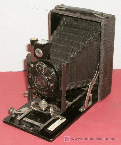 CAMARA GOERZ DE PLACAS (Cámaras Fotográficas - Antiguas (hasta 1950))